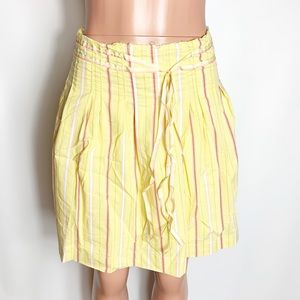 Old navy skirt A line yellow peasant boho size 1